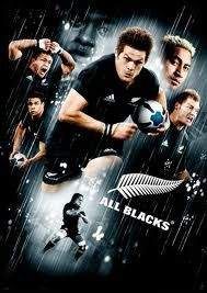 All Blacks - New Zealand's amazing Rugby team.