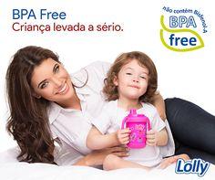 Desde 2010 os produtos Lolly, em vez do policarbonato (PC), que contém BPA, são fabricados com polipropileno (PP) e copoliéster (COPE). Esses plásticos são totalmente livres de bisfenol-A. Todos os outros produtos da Lolly são produzidos com materiais completamente seguros #Lolly #BPAFree
