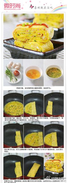 can't read this…but the pictures walk you through really well.  think i can make it; looks like a good and easy breakfast/dinner that would be fun for the kids to eat with chopsticks (and not flavors they don't recognize)