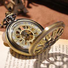 Antique Gold Pocket Watch - Florence Scovel - 4