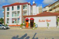 Sunbird Hotel - Bu tesis plaja 9 dakikalık yürüme mesafesinde. Side'nin Akdeniz sahilindeki plajlara 700 metre uzaklıkta yer alan Sunbird Hotel, özel balkonu olan klimalı odalar sunmaktadır. Otelin çatı terası yuvarlak açık havuza ve palmiye ağaçlarının gölgesi altındaki …