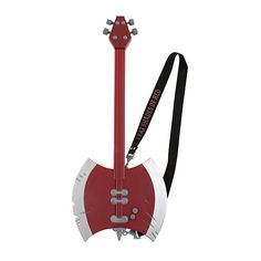 Adventure Time Marceline Bass Guitar | Hot Topic ($9.98) ❤ liked on Polyvore featuring adventure time, accessories, bass, guitars and marceline