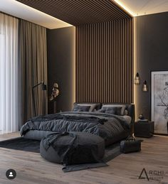 Vintage Home Decor Take a look at some contemporary bedroom design inspirations! Home Decor Take a look at some contemporary bedroom design inspir Luxury Bedroom Design, Master Bedroom Interior, Modern Master Bedroom, Home Room Design, Master Bedroom Design, Contemporary Bedroom, Modern Interior Design, Home Bedroom, Bedroom Inspo
