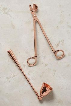 Candle Wick Dipper Oil Lamp Trimmer Extinguish Scissor Cutter Luxury 4 Colour Fa
