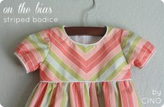 basic bodice dress design with how to match pattern for top