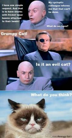 Austin Powers and Grumpy