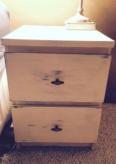 Ikea hack- easy malm nightstand refinish
