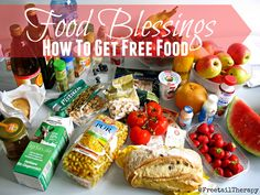 Food Blessings - How to get free food Money Saving Tips, Different, Free Food, Frugal, Blessings, Blessed, Meals, Tips For Saving Money, Meal