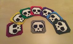 despicable me 2 perler bead patterns | And when my friend got a coasterset my sister wanted one too, with ...