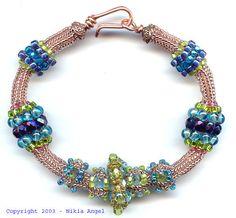 Caged Ndebele Bracelet Kit by Nikia on Etsy