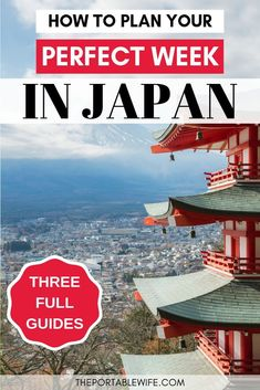 Traveling to Japan? These one week Japan itinerary ideas will show you how to plan a trip to Japan that fits your travel style! Whether you want an off the beaten path Japan itinerary or the popular Tokyo Kyoto Osaka itinerary, this Japan travel guide has got you covered. This post is great for your first time trip to Japan, and includes tips for Japan on a budget! #japan #asiatravel #japantravel