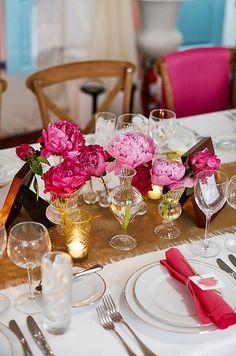 Peonies, Wedding Flowers, Bridal Bouquets || Colin Cowie Weddings