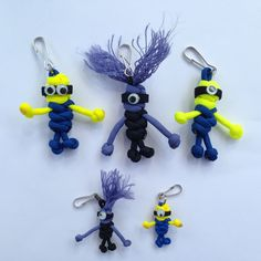 Paracord Minions - Geocaching Swag by CoolGeocachingSwag on Etsy