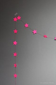 roze sterretjes