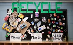 The students will work as a class to distinguish the different every day materials that can be recycled for a better tomorrow.