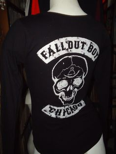 Fall Out Boy - Chicago - Manhead - Small - Women's Shirt
