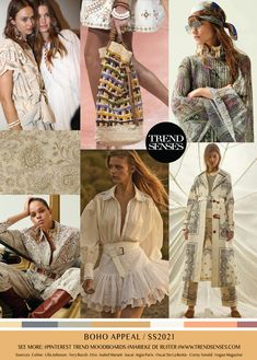 Discover recipes, home ideas, style inspiration and other ideas to try. Casual Fashion Trends, Boho Trends, 2020 Fashion Trends, Spring Fashion Trends, Fashion 2020, Look Fashion, Fashion Design, 50 Fashion, Latest Fashion
