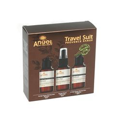Angel Orange Flower Travel Trio Pack 3x80ml Color Shampoo, Mild Shampoo, Organic Hair Care, Orange Flowers, Jojoba Oil, How To Know, Mists, Conditioner, Packing