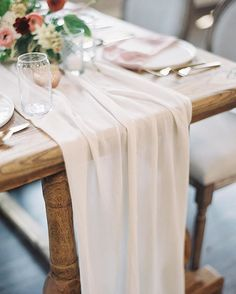 Charmant We Now Offer Table Runners + Styling Textiles In All 24 Limited Edition  Colors. Our Textiles Are Made With A Silk Chiffon Chiffon Fabric That Has A  Romantic ...