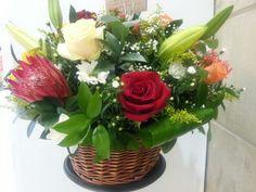 Flower arrangement by Burgess Florist Westville Durban South Africa