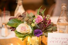 Photography by Prestige Barkley Photographic design. Flowers by Bloombar. #lindseymevents #nycmarathon #nyceventplanner #projectpurple