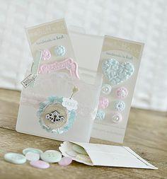 ~Handmade Buttons & Box~