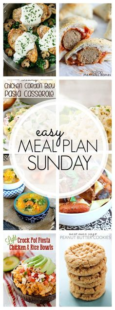 Grab our recipes for Easy Meal Plan Sunday #81 for the week! They never disappoint. And we've added a Healthier Option category for each week as well so watch for that in here, too!
