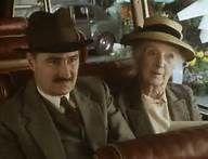 1987 Nemesis - Miss Jane Marple and Lionel Peel (Joan Hickson and Peter Tilbury)