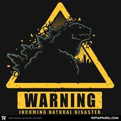 Incoming Natural Disaster