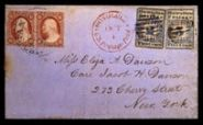 2 cent Hawaiian Missionary cover sold in 1995 for $2,090,000.00 by Siegel Auction Galleries