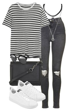 """Untitled #1796"" by sophiasstyle ❤ liked on Polyvore featuring Topshop, T By Alexander Wang, BCBGMAXAZRIA, adidas, Forever 21 and Christian Dior"