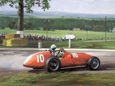Michael Turner (b.1934) —  1951 Gigi Villorese Third in the French gp (1024×768)