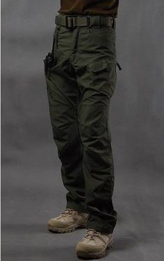 SWAT Urban Tactical Cargo Pants Combat Trousers UTL Special Force Police IX7 CQB