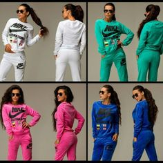 Sporty Outfits, Casual Winter Outfits, Nike Outfits, Summer Outfits, Adidas Tracksuit, Nike Sweatpants, Tracksuit Set, Nike Jogging Suits, Adidas Boots