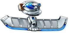 New Duel disks – Update from Konami Yugioh Duel Disk, Battle City, Photo Art, 1, Google Search, Blue, Weapons, Concept Art, Drawing