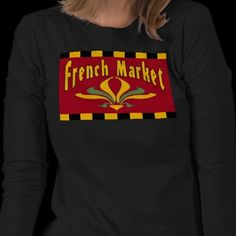 French MARKET Tee Shirt