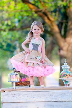 The Cupcake Birthday Dress, Child's costume, Girls