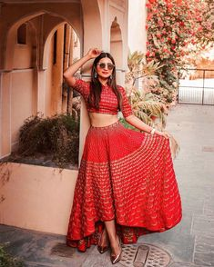 Indian wear, indian attire, latest lehnga designs, indian wedding gowns, in Latest Lehnga Designs, Choli Designs, Dress Indian Style, Indian Dresses, Indian Outfits, Indian Attire, Indian Wear, Indian Party Wear, Indian Wedding Gowns