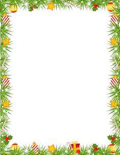 christmas border designs for paper