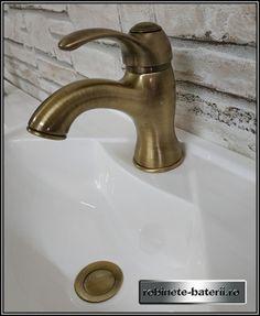 Baterie lavoar Monoclasic, culoare bronz | Sink, Retro, Vintage, Home Decor, Sink Tops, Vessel Sink, Decoration Home, Room Decor, Sinks