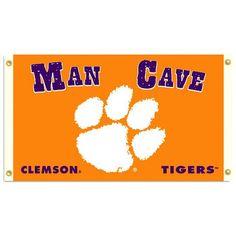 Clemson Tigers Man Cave Premium 3' x 5' Flag W/Grommets