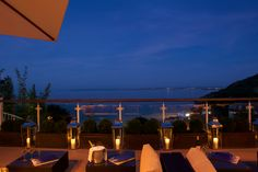 Enjoy your evening with an incredible view over the beach... St Ives Harbour Hotel & Spa, Porthminster, Cornwall