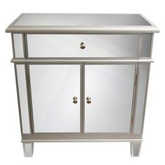 <strong>J. Hunt Home</strong> 2 Door Mirrored Chest