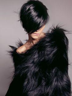 30 Trendy Short Dark Hairstyles