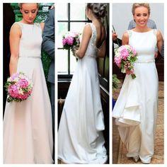 A Romanian Model Wore The Worlds Longest Wedding Dress Train In March 2012 Around 15420 Feet Long Taffeta Materials Were Us