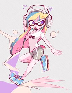 welcome to melonia, redmming:   splatoon!