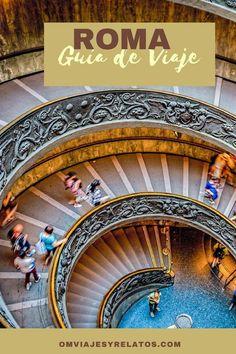 Guía de viaje de Roma. Qué ver en Roma en un itinerario de 3 días de viaje. Descúbrelo! #Roma #Italia #Europa Slow Travel, Travel Packing, Travel Tips, Visit Rome, Road Trip Europe, Places In Italy, Study Abroad, Travel Pictures, Travel