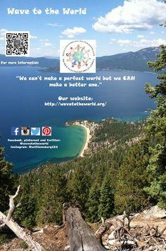 learn more about www.wavetotheworld.org #wavetotheworld