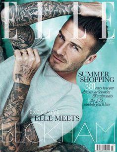 David Beckham portada de ELLE