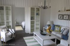 Myytävät asunnot, Nycanderinkatu, Hanko #oikotieasunnot #olohuone